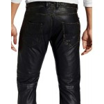 FANTABULOUS AND STYLISH LEATHER PANT GENUINE LEATHER SEXY PANTS