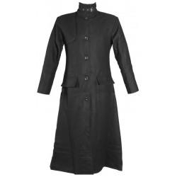 GOTHIC STYLE BLACK LONG COAT GOTH UNIFORM STYLE