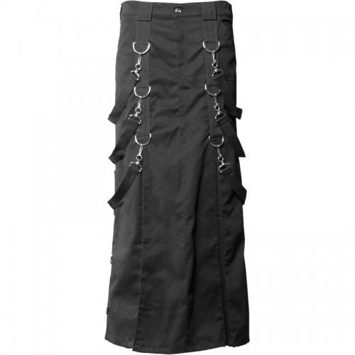 2015 Gothic Gothic belt men's skirt denim cotton material